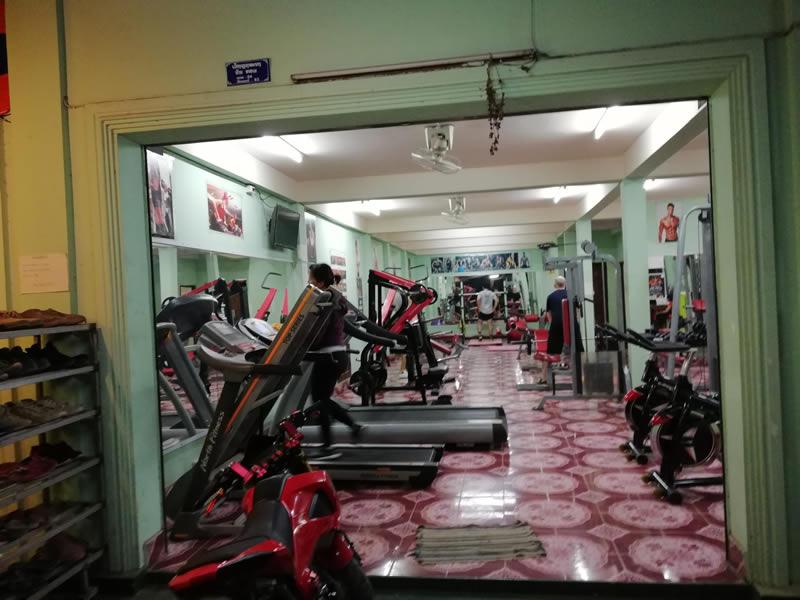 Mr Big Muscle Fitness, Luang Prabang