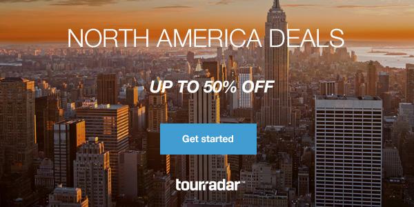 North America 50% off