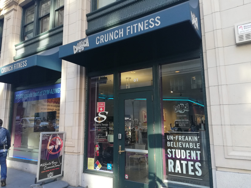 Crunch San Francisco – New Montgomery