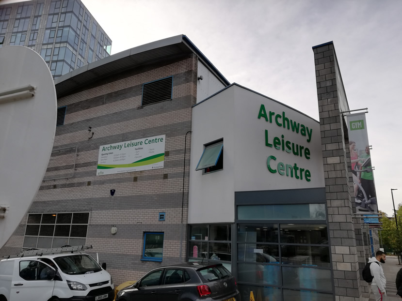 Archway Leisure Centre Gym, London