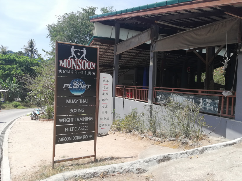 Monsoon Gym and Fight Club, Koh Tao