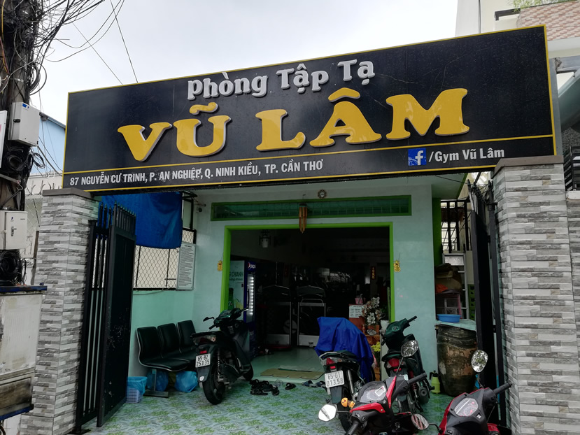 Vu Lam Gym, Can Tho
