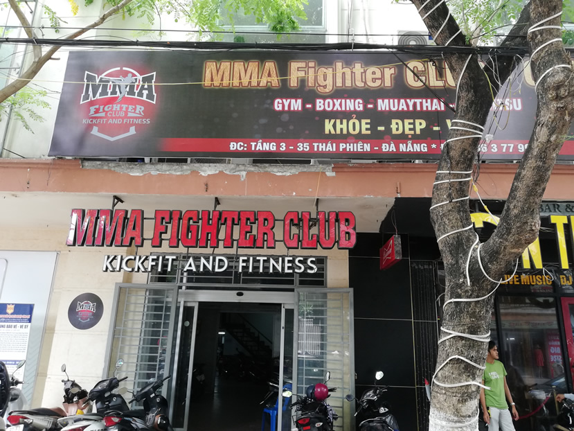MMA Fighter Gym