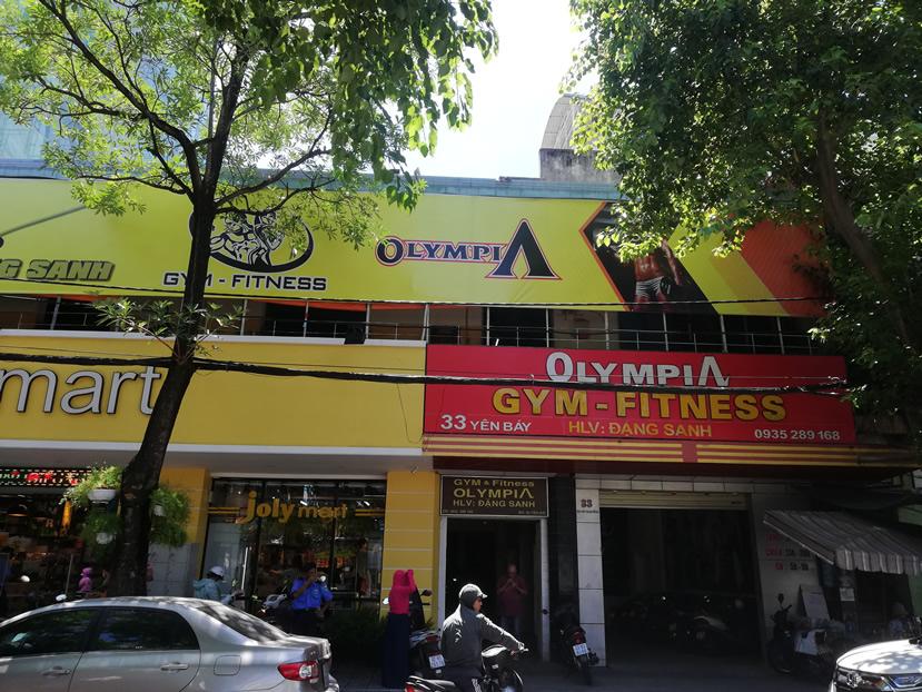 Olympia Gym – Fitness, Danang