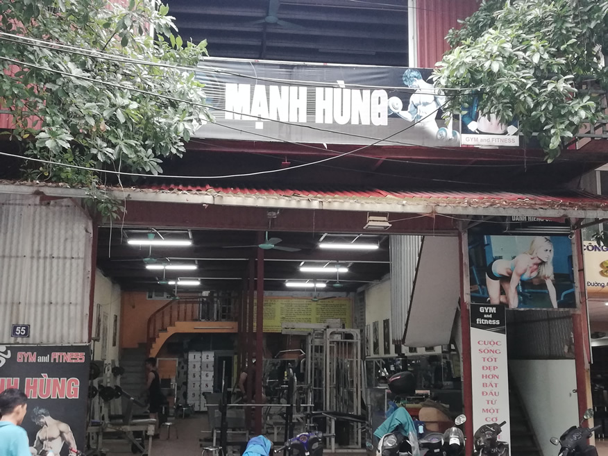 Gym Manh Hung