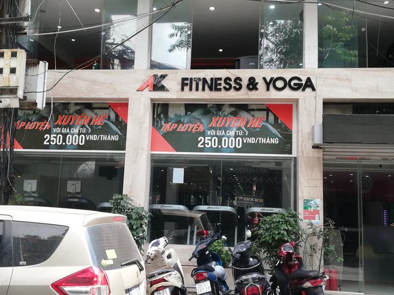 AK Fitness & Yoga, Hanoi