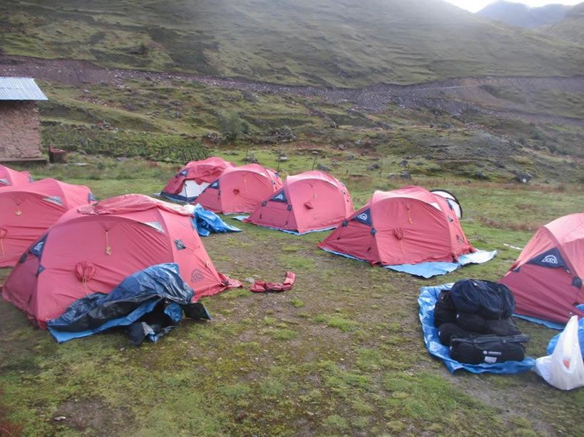 Camping Machu Picchu