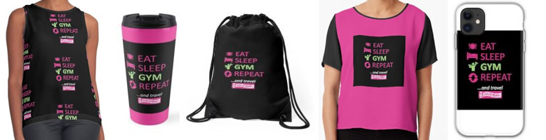 Global Gym Bunny Designs