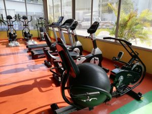 Ball bike at Universe Gym Pattaya