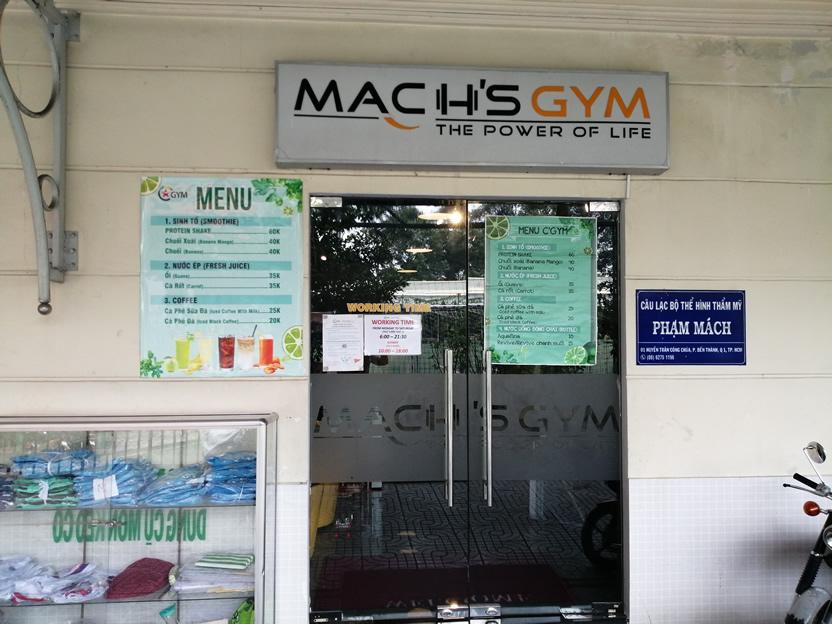 Mach's Gym Ho Chi Minh